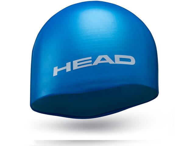 Head Silicone Moulded badmuts blauw
